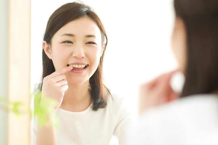 健康な歯が残る
